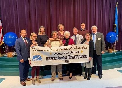 Frederick Douglass Elementary named 2019 Recognition School Featured Photo