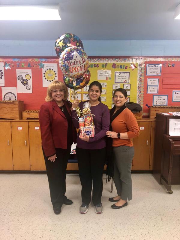 Mrs. Infante, Mrs. Villarreal, and Mrs. Hinojosa