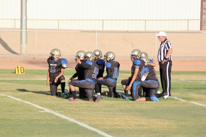 Football: Lucerne Valley Unveils New Uniforms, Mascot And Pep Squad Featured Photo