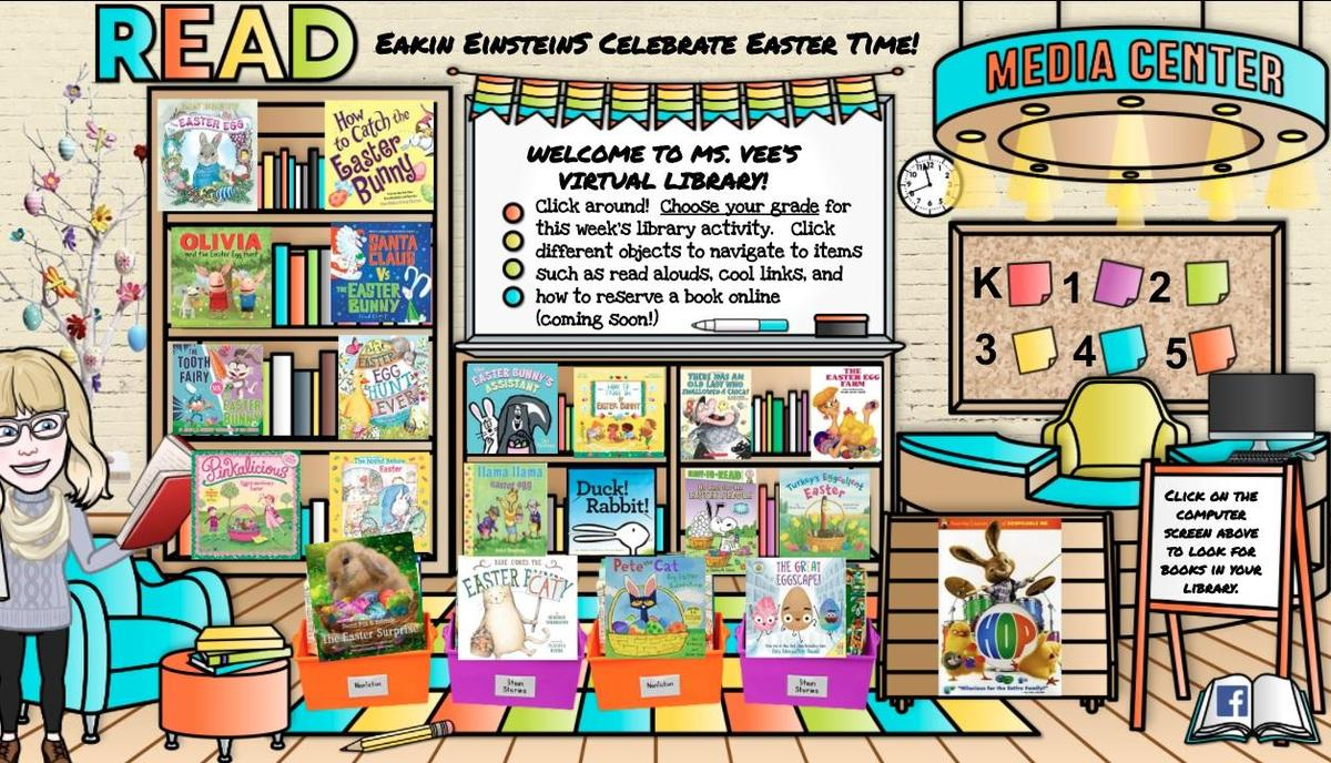 Virtual Library Easter