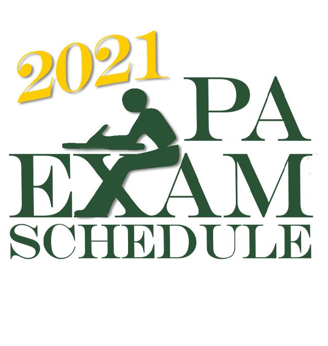 Exam Schedule 2021 Featured Photo