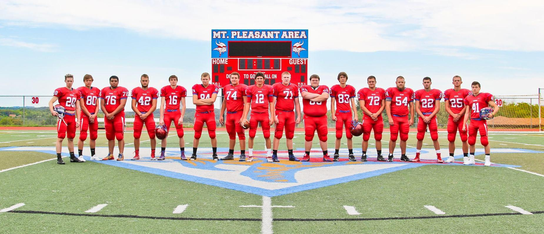 Mount Pleasant Senior High Football Team
