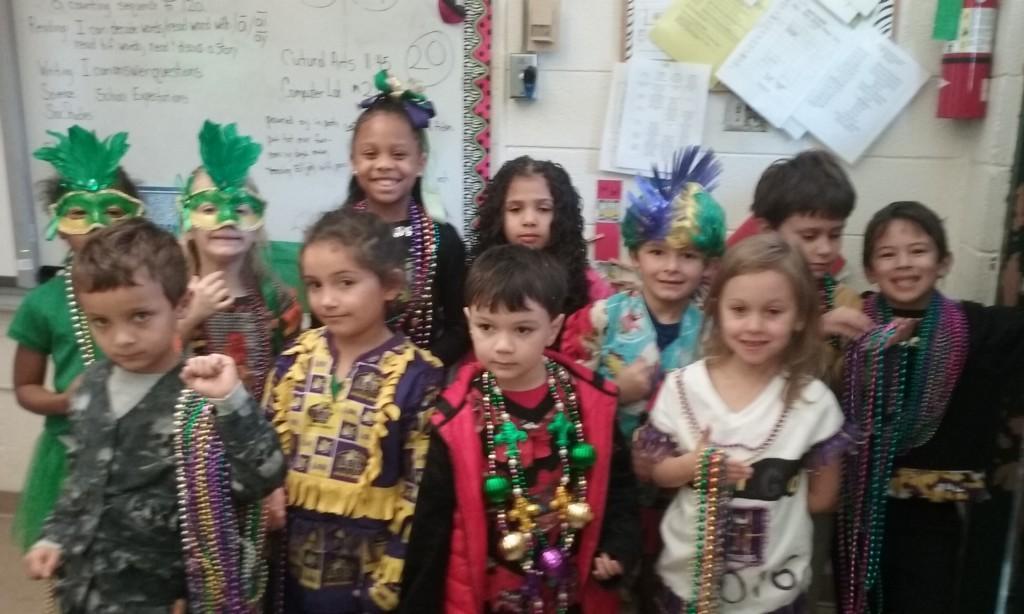 Mrs. Rougeau's 1st grade Class