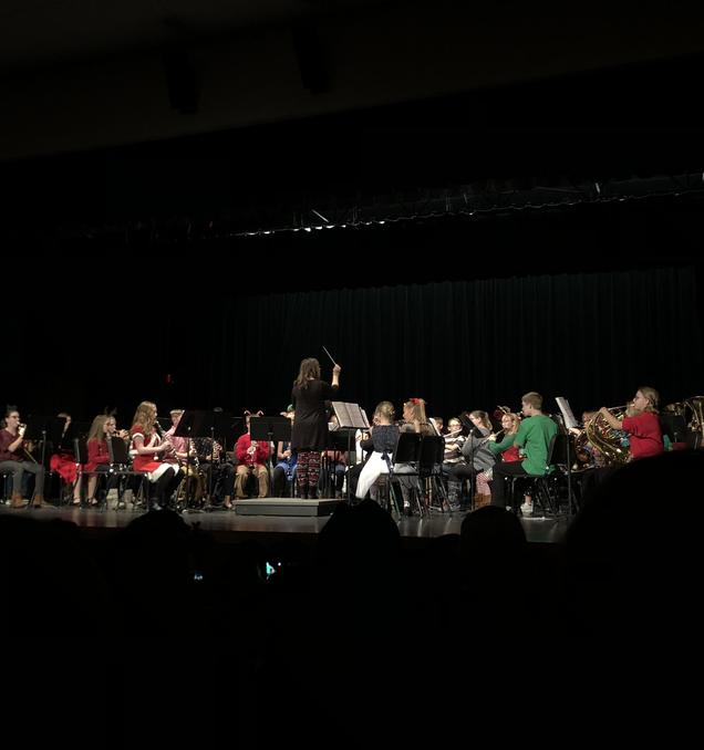 Junior High Band Concert