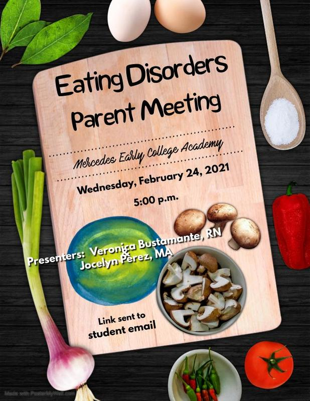 Virtual Parent Meeting: Eating Disorders Featured Photo