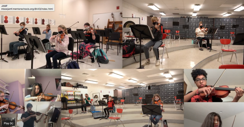 7th Grade Orchestra Virtual Performance Featured Photo