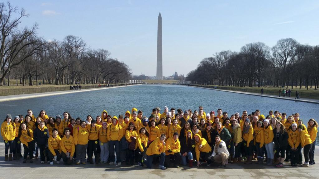 Rebels for Life at the Washington Monument in D.C. for the March for Life