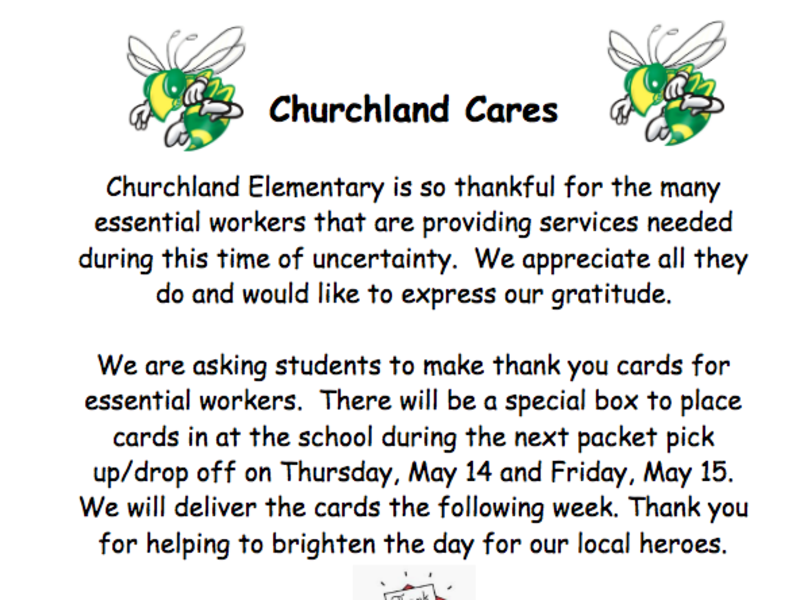 Image of Churchland Cares info