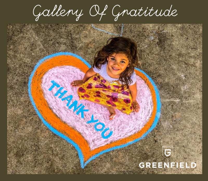 Introducing our Gallery of Gratitude! Featured Photo