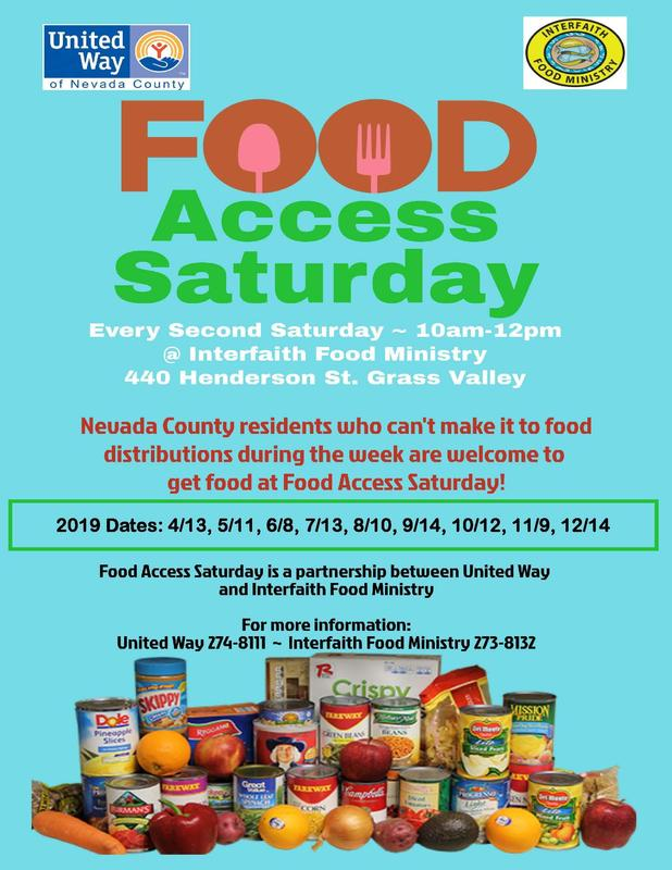 Food Access Saturdays