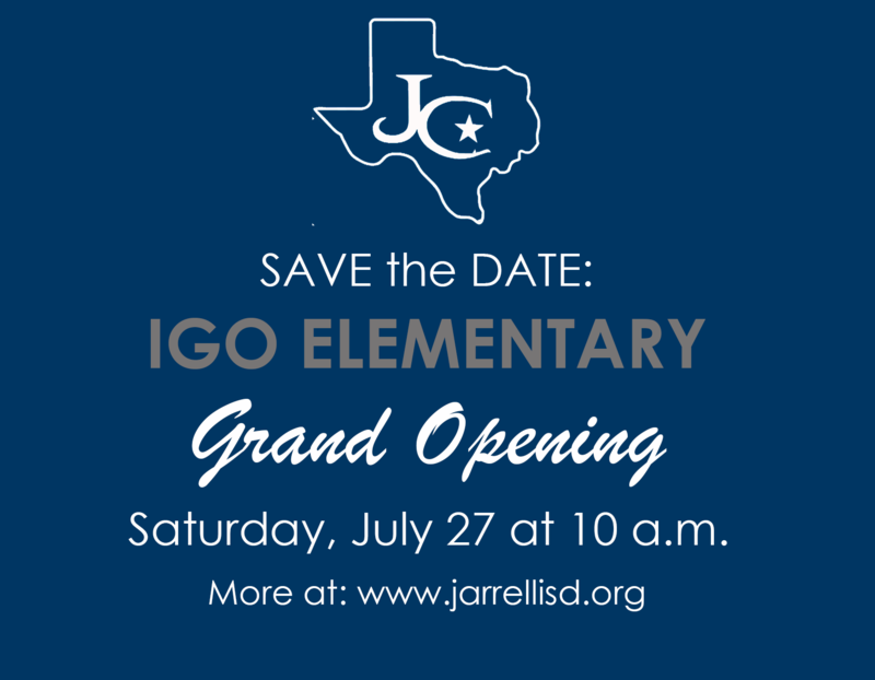 Igo Elementary Grand Opening is July 27 at 10 a.m.