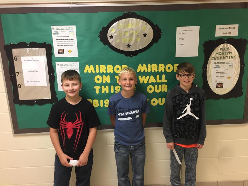 Middle School Students of the Week Featured Photo
