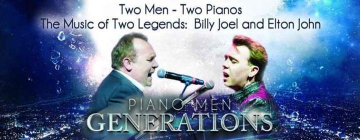 Piano Men Generations with Terry and Nick Davies