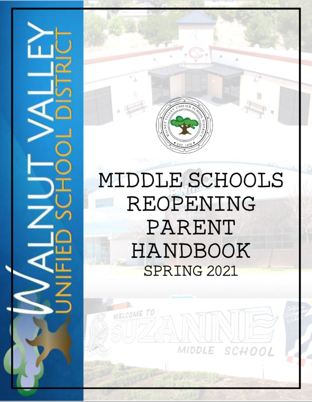 Middle School Reopening Handbooks Featured Photo