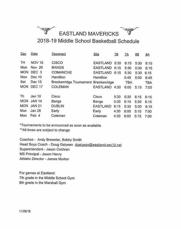 Mavs basketball schedule 2018-19.JPG