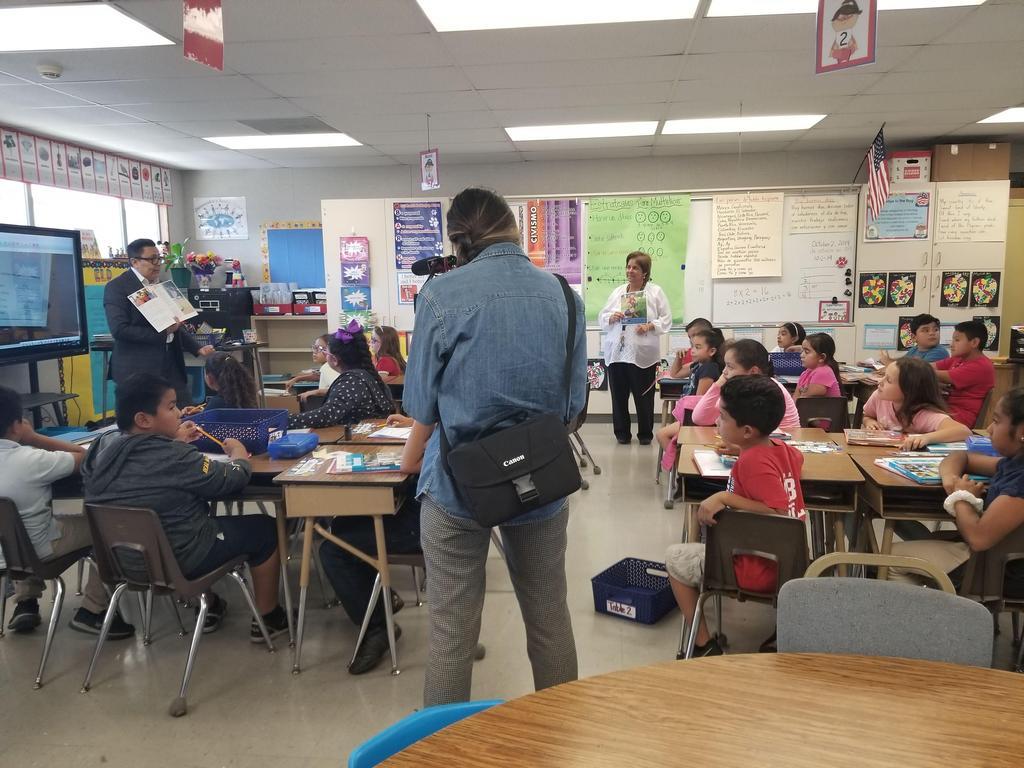 Superintendent speaks to students
