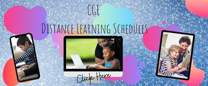 Distance Learning Schedules Thumbnail Image