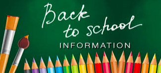 Back to School Information Featured Photo