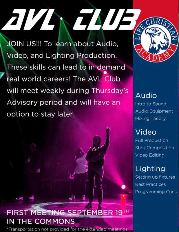 Audio Video Lighting Club Featured Photo