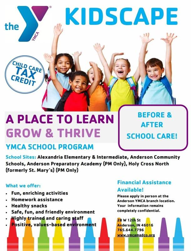 YMCA Before and After School Care Programming for 2018-19 Thumbnail Image