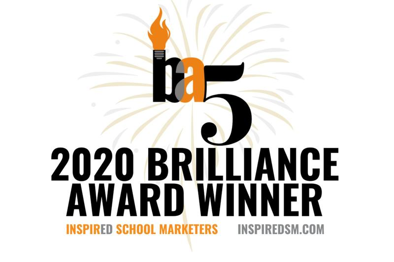 Logo for the 2020 Brilliance Award Winners.