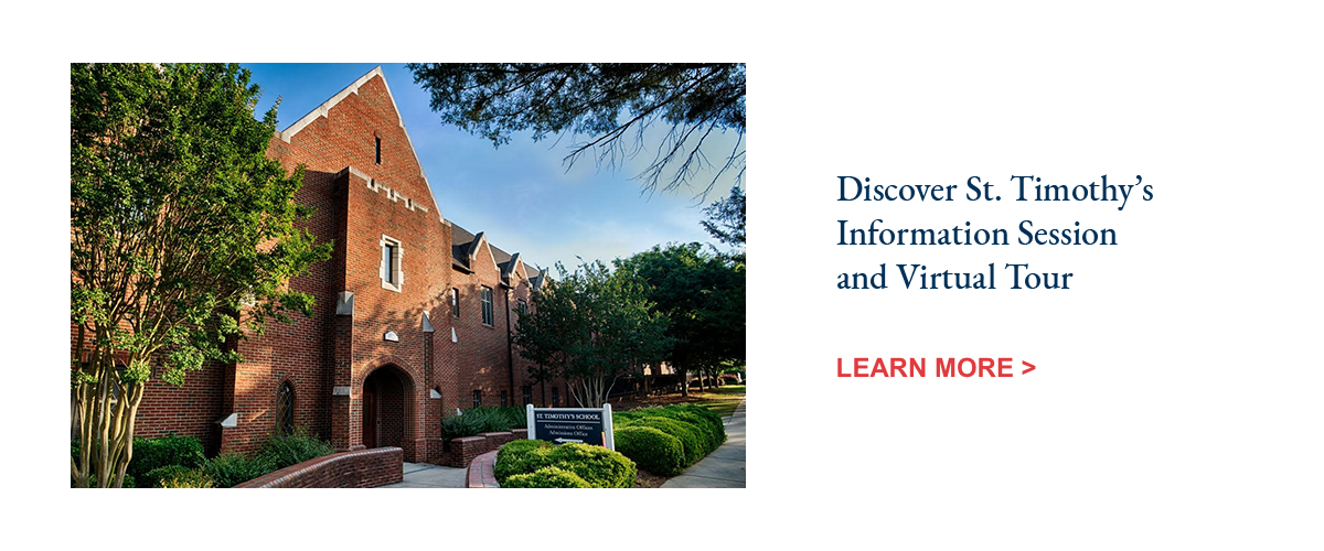 Discover St. Timothy's School Info Session and Tour