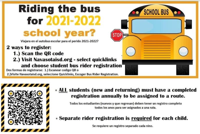 Bus Rider Registration Featured Photo