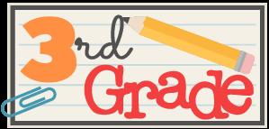 3rd grade banner