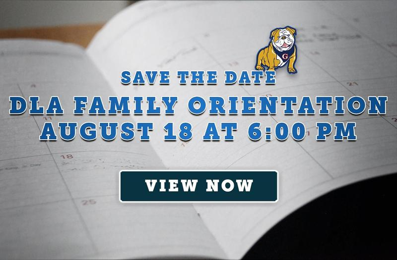 Save the Date! DLA Family Orientation on August 18