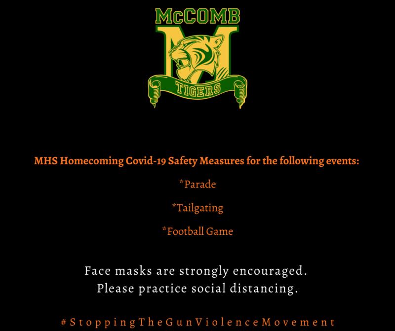 McComb High School Homecoming Covid-19 News 2021