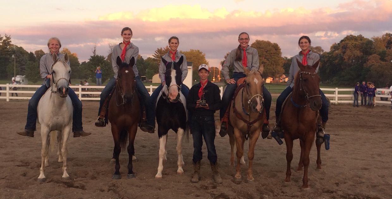 2018 RCHS Equestrian Team