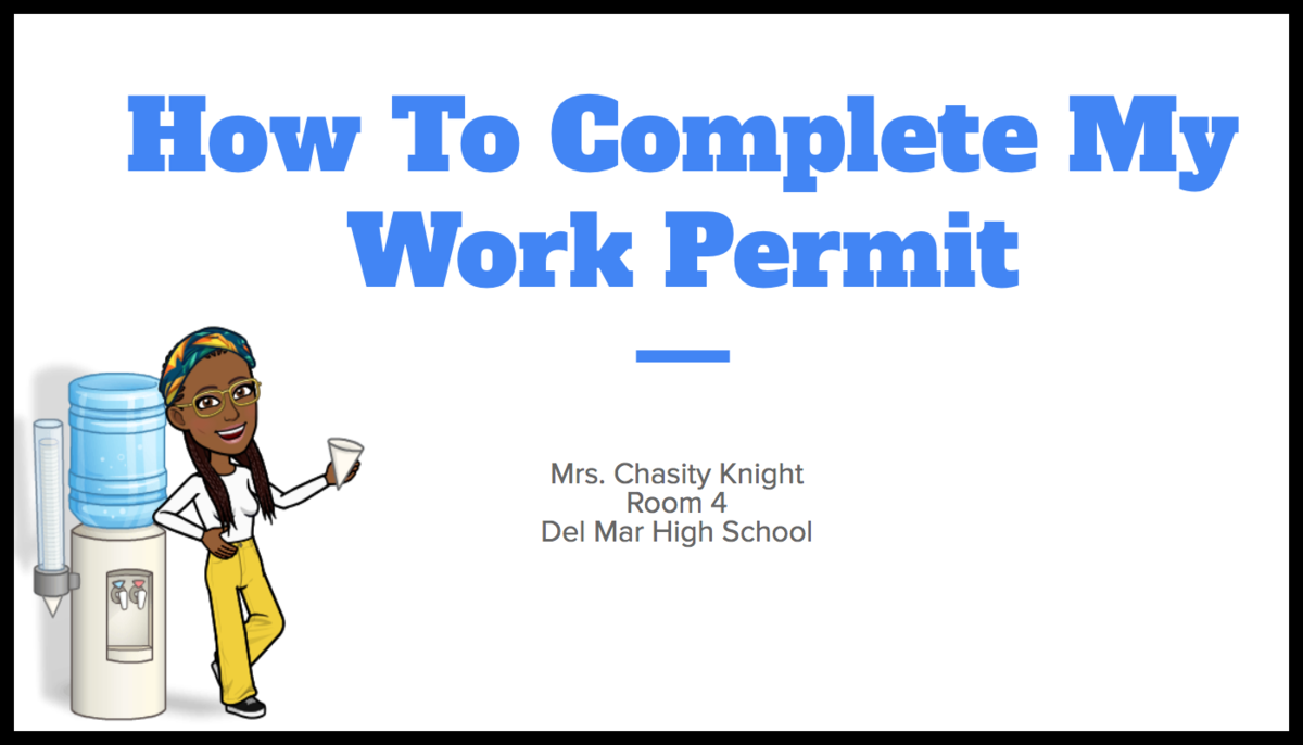 how to complete my work permit instructions