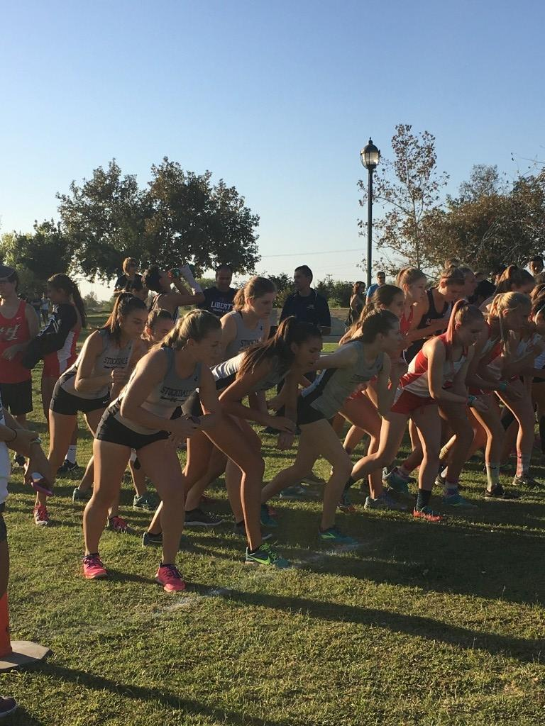 Cross Country Girls