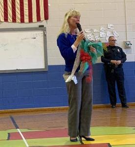 Congrats to our Principal, Mrs. Baker, Region 7 Principal of the Year!