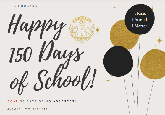 Woohooo!!! Today is the 150th day of school Featured Photo