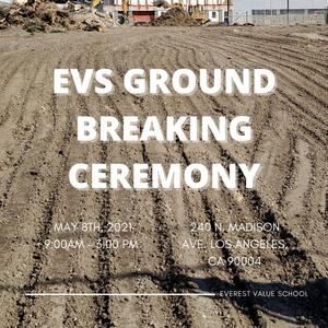 Groundbreaking Ceremony for EVS