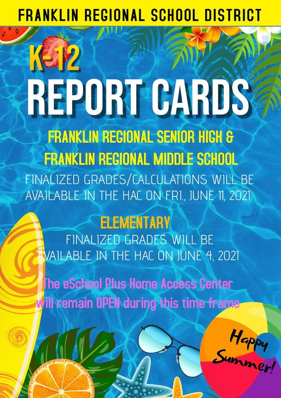 Final K-12 Report Cards