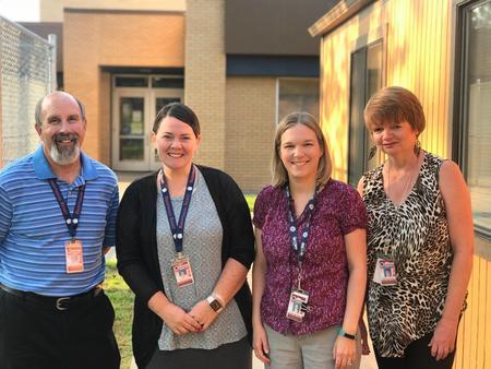 Alt Third Grade: Mr. Beckman, Mrs. Leale, Mrs. Baker, Ms. Claassen