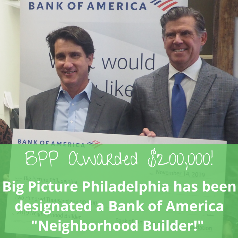 Bank of America awards BPP $200K