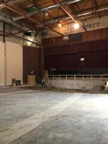 Concrete removed. (2/22/18)