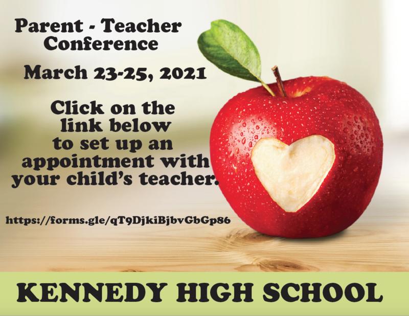 Parent Teacher Conference March 23-25, 2021 Featured Photo