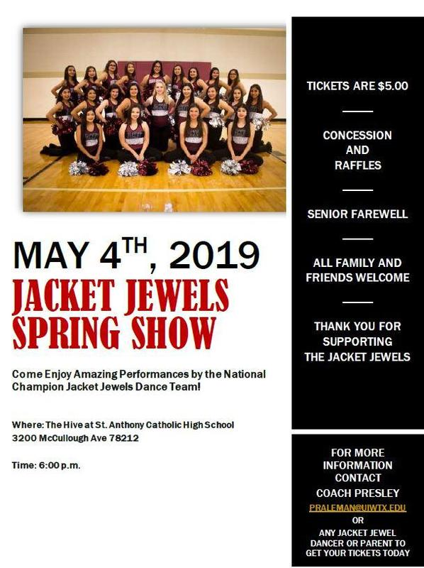 Jacket Jewels Spring Show