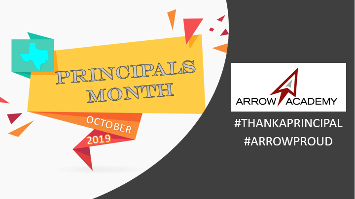 Superintendent's Message for Principals Month Featured Photo
