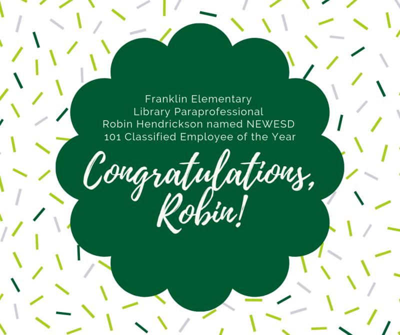 Congratulations to Robin Hendrickson! Thumbnail Image