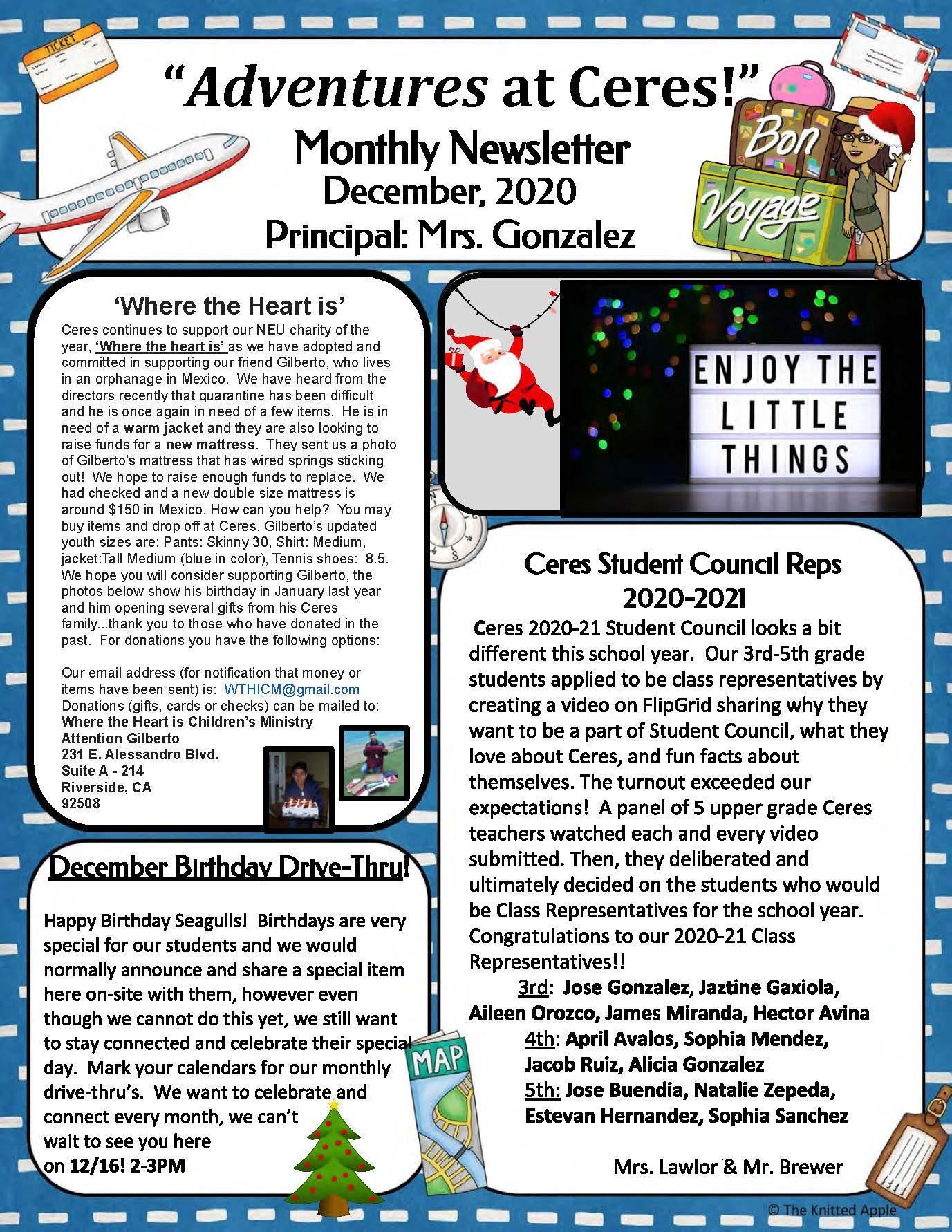 Dec Newsletter pg1