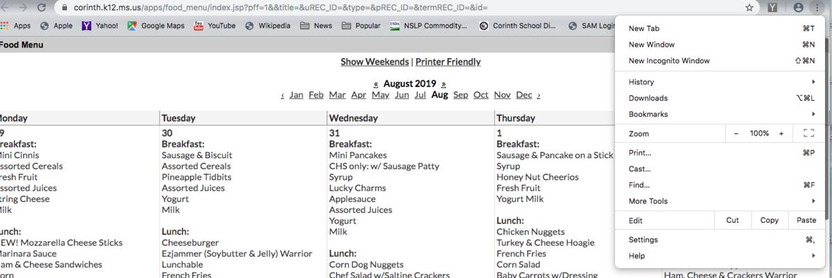 Screenshot of Toolbar