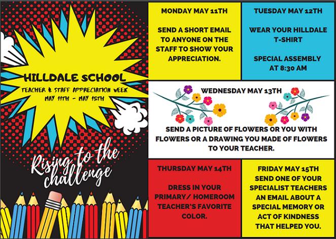 Teacher Appreciation - Week of Events! Thumbnail Image