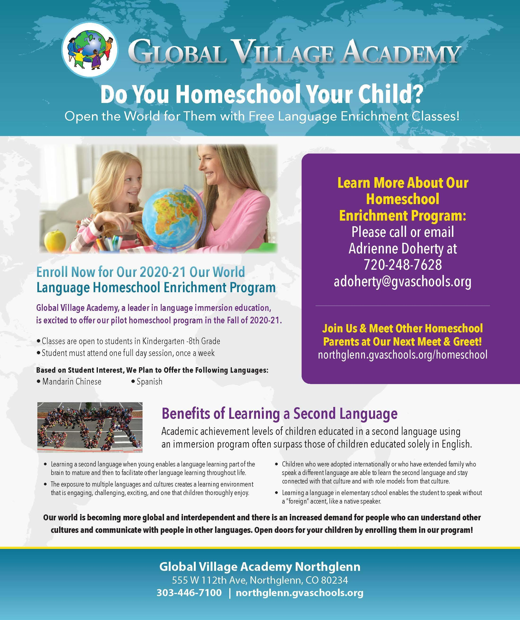 homeschool info -can be found on pdf