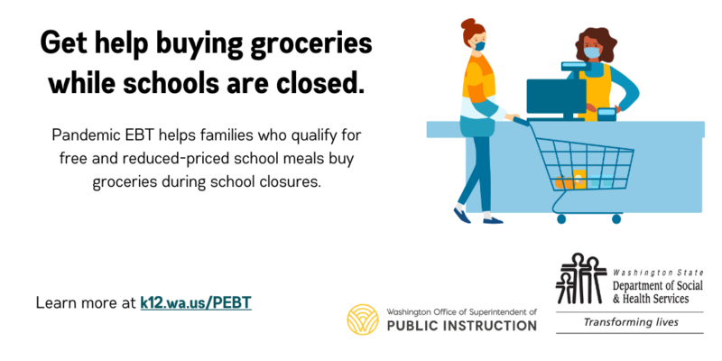 Get help buying groceries while schools are closed.