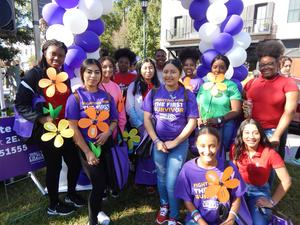 RHHS Health Careers Club Walk